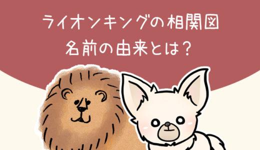 【ライオンキング】ムファサの両親やスカーの過去【相関図・名前の由来】